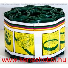 Ágyásszegély műanyag zöld 20cm x 9fm/tekercs